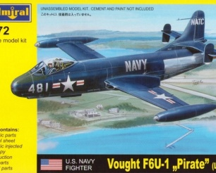 "Vought F6U-1 ""PIRATE"""