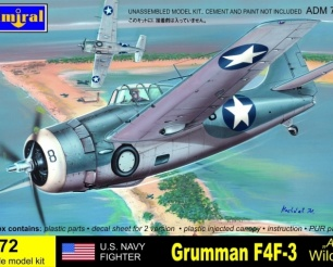U.S.NAVY Fighter Grumman F4F-3 Aces Wildcat