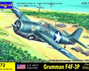 U.S.NAVY Fighter Grumman F4F-3P Recon Wildcat