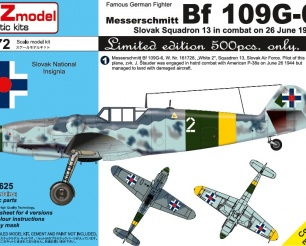 Bf 109G-6 Slovak - Limited Edition