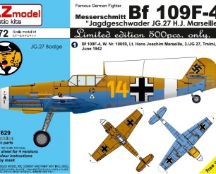 Bf 109F JG27 Limited Edition