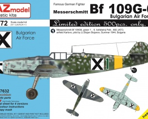Bf 109G-6 Bulgarian Air Force