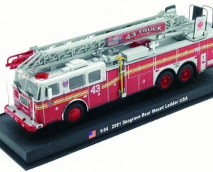 Seagrave Rear Mount Ladder - USA