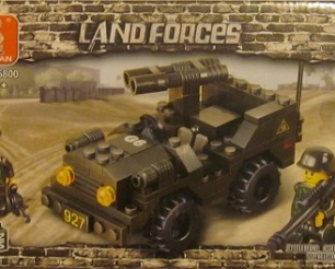Land Forces - Jeep Army Car