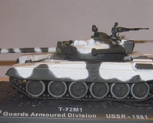 T72M1 1st Guards Armored Division (USSR) 1981