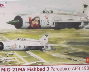 MiG-21 MA Fishbed Pardubice AFB 1989