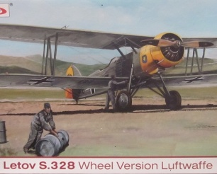 Letov S.328 Wheel Version Luftwaffe