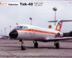 Yak 40 - ČSA/General Air