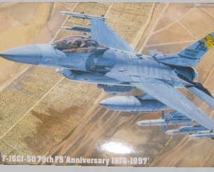 "F-16CJ 50 79th FS ""Anniversary 1918-1997"""
