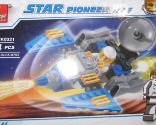 Star Pioneer TK0321 Planet Rocket